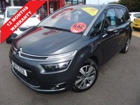 2015 CITROEN C4 GRAND PICASSO 1.6 E-HDI EXCLUSIVE PLUS ETG6 5d AUTO 113 BHP £13295.00