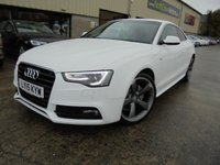 USED 2015 15 AUDI A5 2.0 TDI S LINE S/S 2d AUTO 177 BHP Excellent Condition, One Owner, FSH, Low Rate Finance Available, No Deposit Necessary, Stunning Looking Car