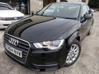 USED 2015 64 AUDI A3 1.2 TFSI SE 3d 109 BHP Excellent Condition, FSH, Low Rate Finance Available, No Deposit Necessary