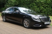 2014 MERCEDES-BENZ S CLASS 3.5 S400 HYBRID L SE LINE EXECUTIVE 4d AUTO 306 BHP £SOLD