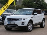 USED 2014 64 LAND ROVER RANGE ROVER EVOQUE 2.2 ED4 PURE 5d 150 BHP LEATHER + FULL LAND ROVER SERVICE HISTORY