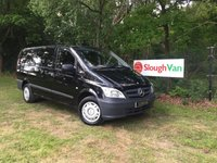 USED 2015 65 MERCEDES-BENZ VITO 2.1 113 CDI LWB AIR CON Air Conditioning, Bluetooth, Cruise Control