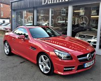 2015 MERCEDES-BENZ SLK 2.1 SLK250 CDI BLUEEFFICIENCY AMG SPORT 2d AUTO 204 BHP £17995.00