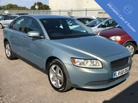 USED 2008 58 VOLVO S40 1.6 S 4d 100 BHP Petrol Saloon with Long MOT Expires 12/08/2019