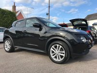 2015 NISSAN JUKE 1.5 DCI ACENTA PREMIUM 5d SAT-NAV AND ONLY ONE OWNER FROM NEW  £8500.00