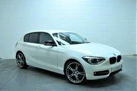 2012 BMW 1 SERIES 2.0 118D SPORT 5d 141 BHP £8895.00