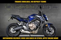 USED 2017 17 HONDA CB650 USED MOTORBIKE NATIONWIDE DELIVERY GOOD & BAD CREDIT ACCEPTED, OVER 500+ BIKES IN STOCK