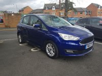 USED 2015 15 FORD C-MAX 1.6 ZETEC 5d 124 BHP GOOD SPECIFICATION INCLUDING CLIMATE CONTROL, PARKING SENSORS, ALLOY WHEELS, AND FRONT HEATED WINDSCREEN!..CHEAP TO RUN , LOW CO2 EMISSIONS(149G/KM), LOW ROAD TAX AND EXCELLENT FUEL ECONOMY!  ONLY 9340 MILES AND FULL HISTORY!