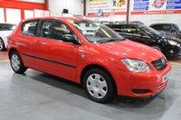 2002 TOYOTA COROLLA 1.4 T2 VVT-I 3d 92 BHP £1485.00