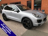 USED 2016 16 PORSCHE CAYENNE 3.0 D V6 TIPTRONIC S 5DOOR AUTO 262 BHP Front & Rear Parking Sensors + Reverse Parking Camera : Phone Bluetooth Connectivity  Heated Front Seats : Porsche Crest Embossed on Front Head Restraints : DAB Digital Radio  New Discs and Pads Fitted All Round : Satellite Navigation : Cruise Control : USB & AUX