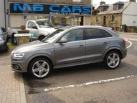 USED 2014 14 AUDI Q3 2.0 TDI QUATTRO S LINE PLUS 5d 177 BHP ONLY 35000 MILES FROM NEW