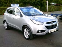 USED 2011 60 HYUNDAI IX35 1.7 PREMIUM CRDI 5d 114 BHP FINANCE AVAILABLE EVEN IF YOU HAVE POOR CREDIT.