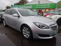 USED 2014 64 VAUXHALL INSIGNIA 2.0 TECH LINE CDTI ECOFLEX S/S 5d 138 BHP £0 DEPOSIT FINANCE DEAL AVAILABLE....CALL TODAY ON 01543 877320