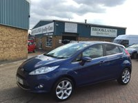 2009 FORD FIESTA 1.2 ZETEC 5d 81 BHP Only Done 31,000 Miles  £5695.00