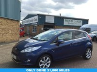 USED 2009 09 FORD FIESTA 1.2 ZETEC 5d 81 BHP Only Done 31,000 Miles  Very Low Miles, Great Mpg,Tinted Windows,2 Keys,Alloy Wheels,Give us a call on 01536 402161