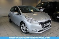 USED 2012 62 PEUGEOT 208 1.4 VTi Active 5dr