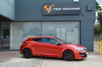 "USED 2015 65 RENAULT MEGANE 2.0 RENAULTSPORT CUP S S/S 3d 275 BHP FLAME RED, OHLINS SUSPENSION, 19"" ALLOYS, LEATHER RECAROS, CUP CHASSIS, SAT NAV, V2 RENAULTSPORT MONITOR"