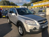 2011 CHEVROLET CAPTIVA 2.4 LS D PETROL 5 DOOR MANUAL IN SILVER IN IMMACULATE CONDITION. £4799.00