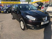 2010 NISSAN QASHQAI 1.5 VISIA PURE DRIVE DCI 5 DOOR 105 BHP IN BLACK WITH ONLY 71000 MILES £5299.00