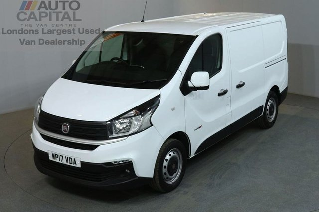 2017 17 FIAT TALENTO 1.6 16V MULTIJET II 5d 95 BHP SWB EURO 6 AIR CON DIESEL PANEL MANUAL VAN