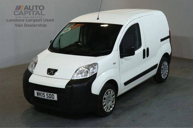 2015 15 PEUGEOT BIPPER 1.2 HDI PROFESSIONAL 75 BHP AIR CON SWB VAN AIR CONDITIONING FULL S/H