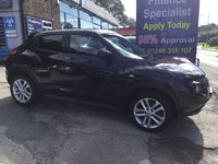 2012 NISSAN JUKE 1.5 ACENTA PREMIUM DCI 5d 110 BHP, only 41000 miles £7495.00
