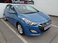 USED 2012 62 HYUNDAI I30 1.6 STYLE NAV BLUE DRIVE CRDI 5d 109 BHP FULL SERVICE HISTORY  SATELLITE NAVIGATION  SUPPLIED WITH FULL MOT  ALLOY WHEELS  PARKING SENSORS  £ZERO ROAD TAX