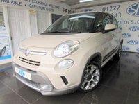 2013 FIAT 500L 1.6 MULTIJET TREKKING 5d 105 BHP £7000.00