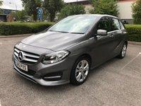 2015 MERCEDES-BENZ B CLASS 1.5 B180 CDI SPORT 5d AUTO 107 BHP £SOLD