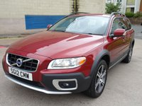 USED 2012 12 VOLVO XC70 2.4 D5 SE LUX AWD 5d AUTO 212 BHP FULL VOLVO SERVICE RECORD +  2 PREVIOUS KEEPERS +  MOT AUGUST 2019 +  NAVIGATION SYSTEM +  BLUETOOTH +