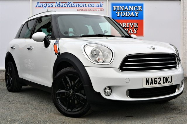 2012 62 MINI COUNTRYMAN 1.6 ONE Diesel Spacious 5d Hatchback Low Running Cost Low Road Tax and High 64mpg