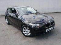 2014 BMW 1 SERIES 1.6 114I ES 3d 101 BHP £9499.00