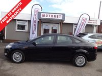 USED 2007 57 FORD MONDEO 1.8 ZETEC TDCI 5DR DIESEL 125 BHP FREE 12 MONTH WARRANTY UPGRADE