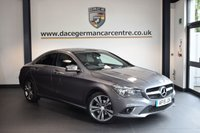USED 2015 15 MERCEDES-BENZ CLA 2.1 CLA200 CDI SPORT 4DR AUTO 136 BHP 1 Owner  + FULL BLACK  LEATHER INTERIOR + 1 OWNER FROM NEW + SATELLITE NAVIGATION + BLUETOOTH + SPORT SEATS + CRUISE CONTROL + RAIN SENSORS + PARKING SENSORS + 18 INCH ALLOY WHEELS +