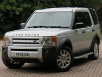 2006 LAND ROVER DISCOVERY 2.7 3 TDV6 SE 5d 188 BHP £5811.00