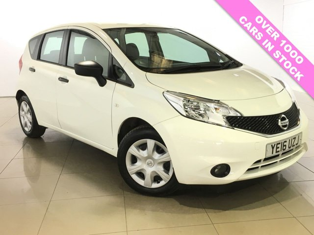 View our 2016 16 NISSAN NOTE 1.5 VISIA DCI 5d 90 BHP