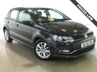 USED 2015 15 VOLKSWAGEN POLO 1.4 SE TDI BLUEMOTION 5d 74 BHP 1 Owner/Bluetooth/DAB/Air Con