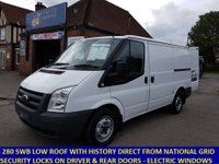 2009 FORD TRANSIT 280 SWB LOW ROOF FROM THE NATIONAL GRID £4995.00
