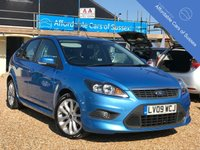 USED 2009 09 FORD FOCUS 1.6 ZETEC S  5d 113 BHP Stunning Vision Blue Paintwork + Bodykit