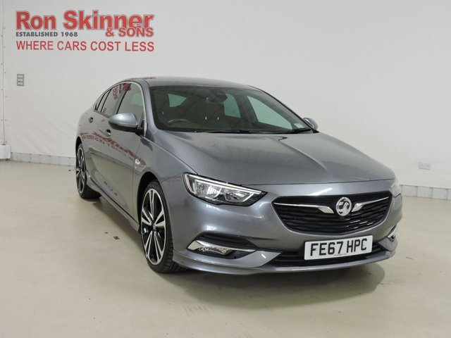 View our 2017 67 VAUXHALL INSIGNIA 2.0 GRAND SPORT SRI VX-LINE NAV 5d 168 BHP with Rear View + 20in Alloys