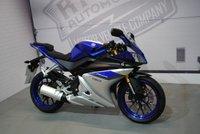 2017 YAMAHA YZF-R125 ABS  £3450.00