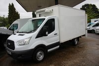 2014 FORD TRANSIT CUSTOM 2.2 350 C/C SRW 1d 99 BHP TEMPERATURE CONTROLLED WITH OVERNIGHT 240 VOLT HOOKUP £9295.00