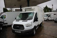 USED 2014 64 FORD TRANSIT CUSTOM 2.2 350 C/C SRW 1d 99 BHP TEMPERATURE CONTROLLED WITH OVERNIGHT 240 VOLT HOOKUP