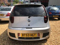 USED 2004 53 FIAT PUNTO 1.7 16V HGT 3d 130 BHP VERY BRIGHT CLEAN CAR: