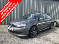 2012 VOLKSWAGEN GOLF 1.6 S TDI BLUEMOTION 5d 103 BHP £6250.00