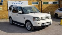 2010 LAND ROVER DISCOVERY 3.0 4 TDV6 HSE 5d AUTO 245 BHP £15984.00