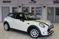USED 2014 14 MINI HATCH COOPER 1.5 COOPER 3d 134 BHP SERVICE HISTORY + £20 ROAD TAX + BLUETOOTH + DAB RADIO + 15 INCH ALLOYS + AIR CONDITIONING + MINI EXCITEMENT PACKAGE