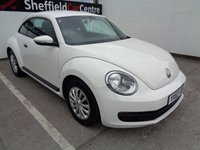 USED 2013 63 VOLKSWAGEN BEETLE 1.2 TSI 3d 103 BHP FULL SERVICE HISTORY  COMES WITH 2 KEYS  LAST SERVICED @32248 MILES   AIR CONDITIONING  CENTRAL LOCKING  ELEC WINDOWS  ABS