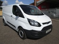 2014 FORD TRANSIT CUSTOM 290 L2 LWB 125 PS *ONLY 41000 MILES* £10995.00