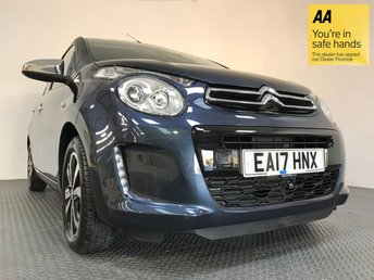 2017 CITROEN C1 1.0 FLAIR ETG 5d AUTO 68 BHP £8750.00